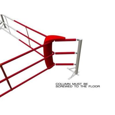 Fixed Training Ring, Saman, 6x6m, 3 ropes