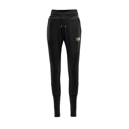 Jogging nadrág, Irvine, pamut, női, fekete