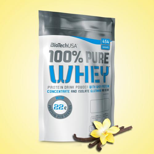 Biotech, 100% Pure Whey, 454 g, 16 ízben, Bourbon vanília ízek