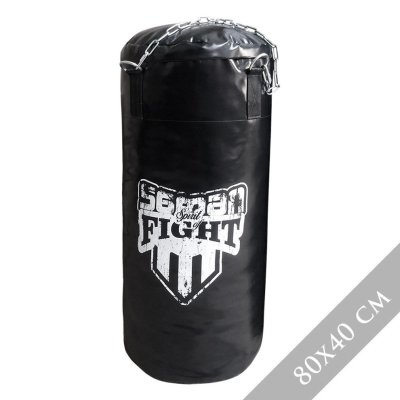 Boxzsák 100 cm-ig, Saman Spirit of Fight, műbőr, lánccal