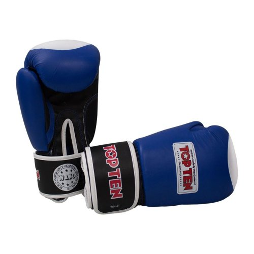 Boxing gloves, Top Ten, WAKO, blue