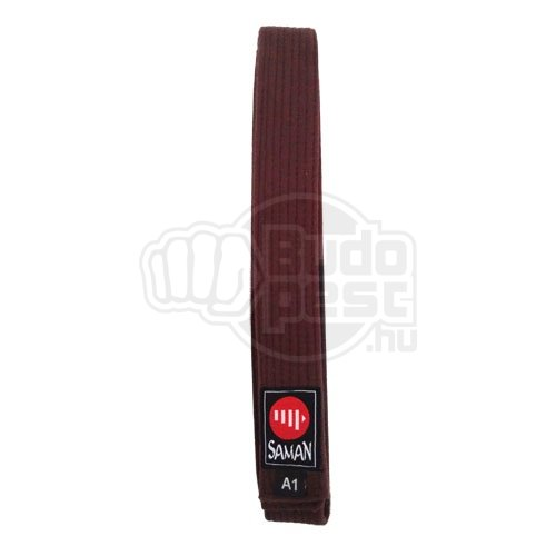 BJJ belt, Saman, brown, 170 cm size