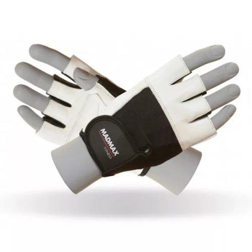 Fitness Gloves, Madmax, Fitness, unisex, Fehér szín, M size