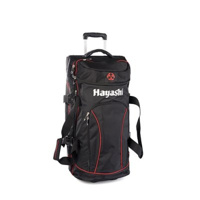 Bag, Hayashi,Trolley Deluxe Travel, black-red