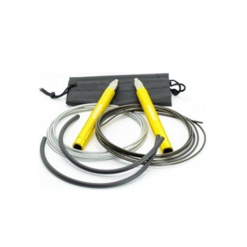 Ugrálókötél, Madmax, Jump Speed Rope, szett, Citromsárga szín
