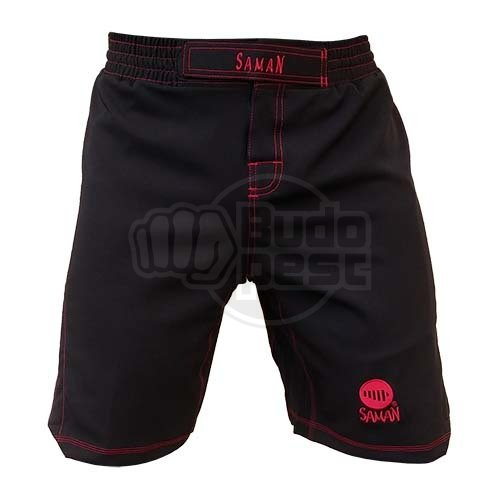 MMA shorts, Saman, Adamant, black, M méret