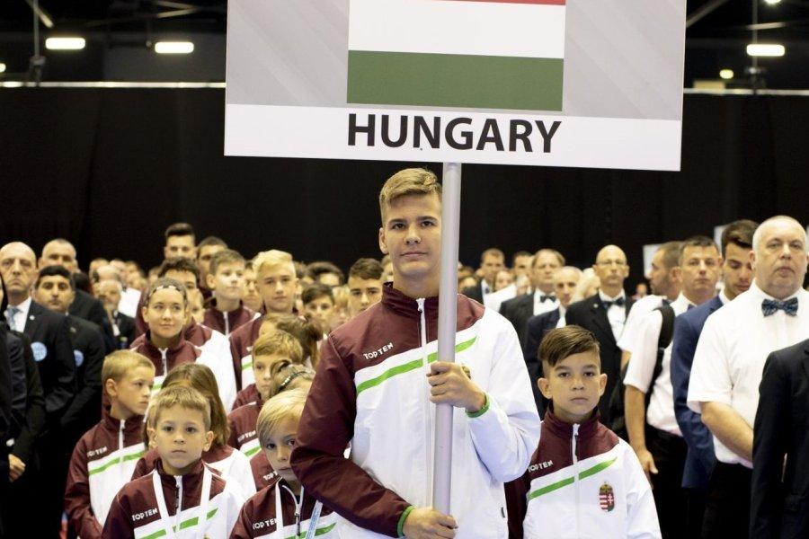 A magyar csapat a legnépesebb a győri kick-box Eb-n