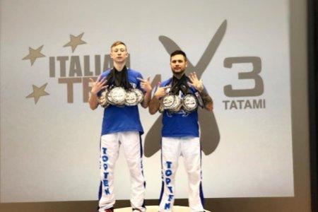 Veres fivérek: hétből hét kick-boxos arany