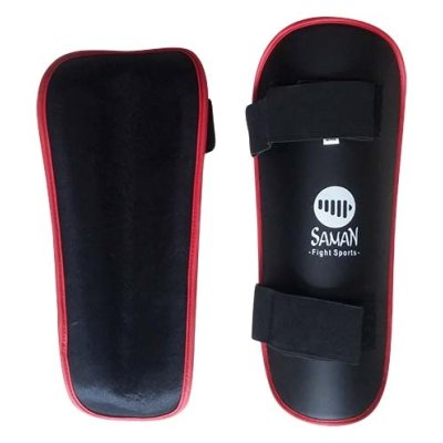 Shinpad, Saman Eco, artificial leather, black, S/M size