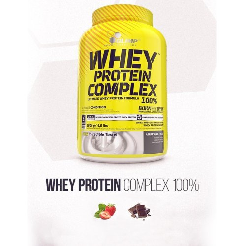 Olimp Whey Protein, 1800 g, Double Chocolate Flavor