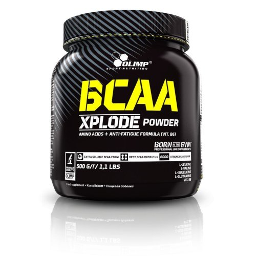 Olimp, BCAA Xplode Powder, Amino acid, 500g, Citrom ízek