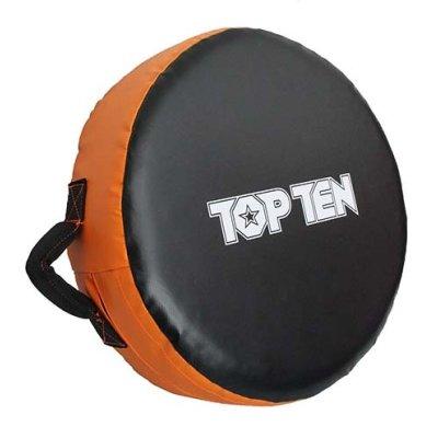 Körpajzs, Top Ten, Jumbo, 45 cm átmérő, narancs-fekete