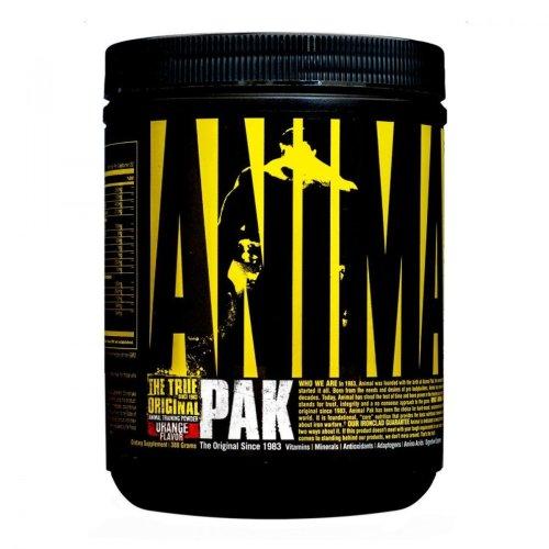 Universal Nutrition, Animal Powder Pak, multiviamin por, 312g, Narancs ízek
