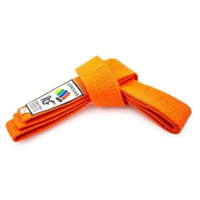 "Taekwon-Do belt ""ITF""- orange"