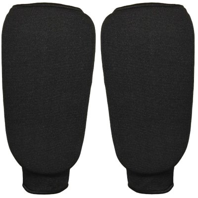 Shin guards, Phoenix, elastic, black