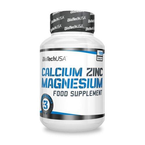 Biotech, Calcium Zinc Magnesium 100 tabl.