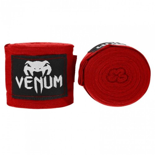 Venum Kontact Boxing Handwraps - ORIGINAL - red 4M