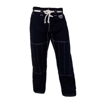 Ju-Jitsu trousers, Saman, Ripstop, 10 oz, black