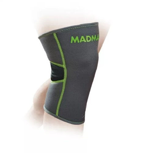 Knee Support, Madmax, Zahoprene, grey, L size