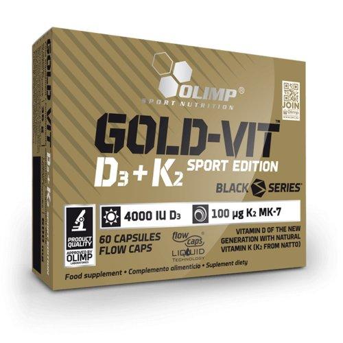 Olimp, Gold-Vit, D3+K2 Sport Edition vitamin, 60 kapszula