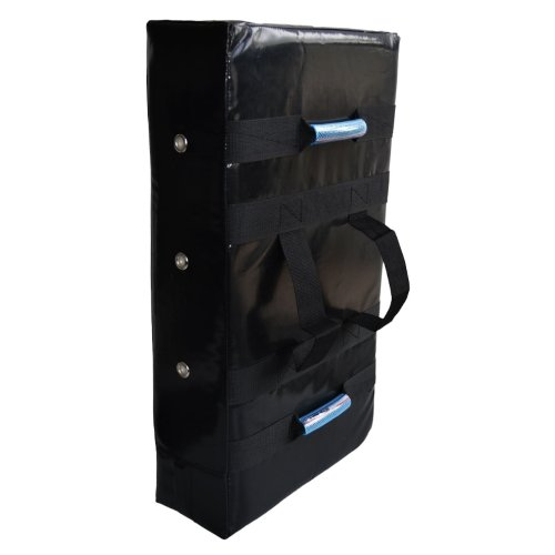 Straight shield, Phoenix, Pro Tech Max, PU, 70x40 cm, black