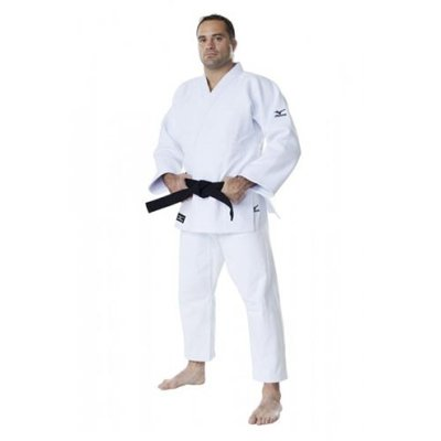 Judo uniform, Mizuno, Shiai, white