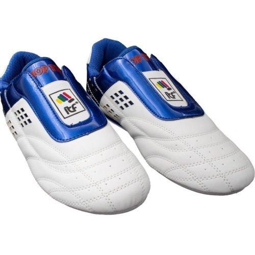 "Martial Arts Shoes ""ITF"" - white-blue"