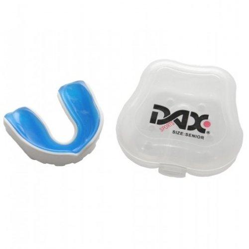 Fogvédő, DAX BB PRO, fehér/kék, felnőtt