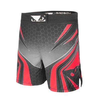 MMA short, Bad Boy, Legacy Evolve, black-red, S size