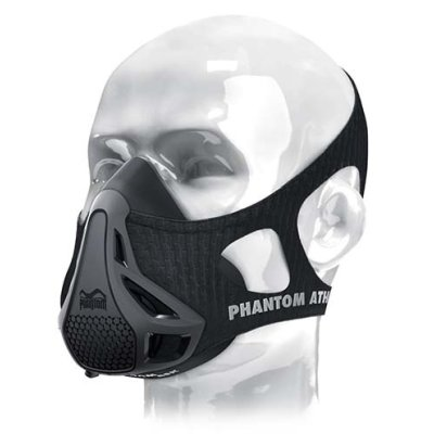 Phantom Training mask, black, grey, S size