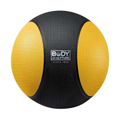 Medicine ball 2 kg, rubber, Body Sculpture