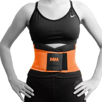 Slimming and support belt, Madmax, Narancs szín, L size