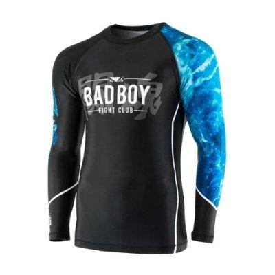 Rashguard, Tsunami, Bad Boy, hosszú ujjú, fekete-kék