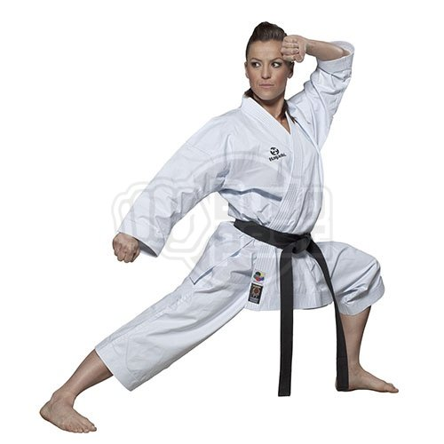 Karate ruha, Hayashi, WKF, Tenno Premium II, fehér, 190 cm méret