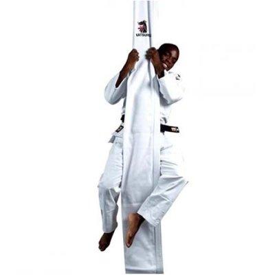 Judo mászó szár, 30x400 cm, fehér, gallér erősítéssel