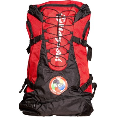 Backpack, Hayashi, Giant WKF, red-black