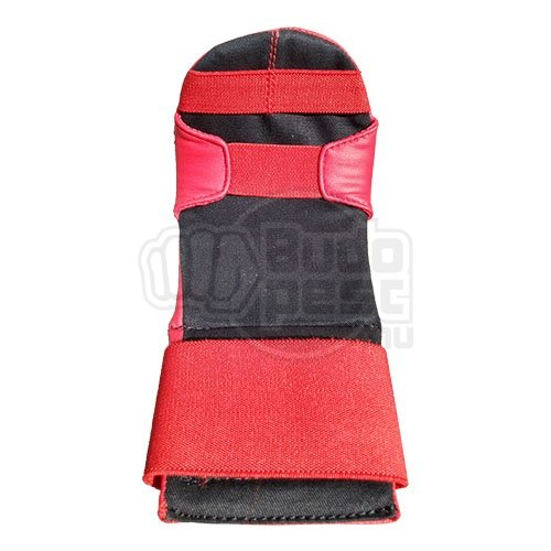Karate mitts, Saman Eco, artificial leather, red, M size