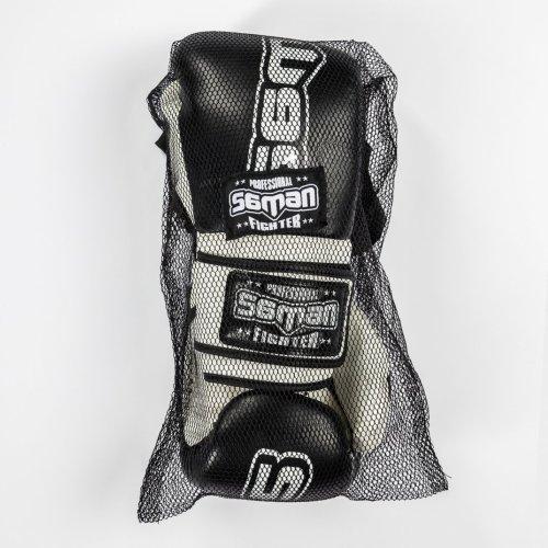 Boxkesztyű, Saman, Colours 1985, műbőr, fekete/fehér