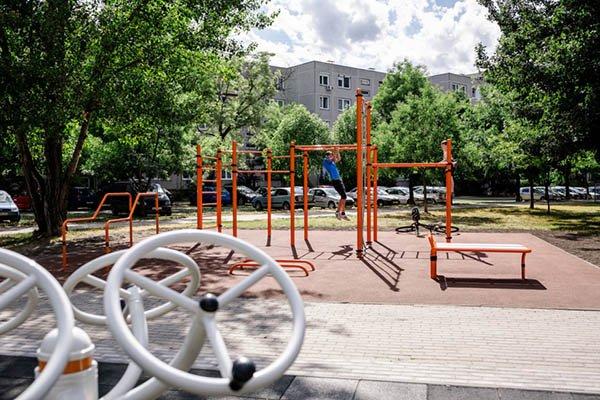 Megnyílt az első integrált kondipark Budapesten