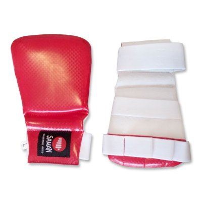 Jitsu Mitts, Saman, red, XS size