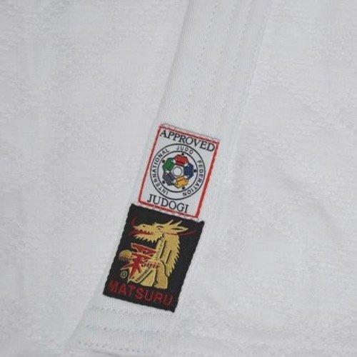Judogi, Matsuru, IJF, Slim Fit, white