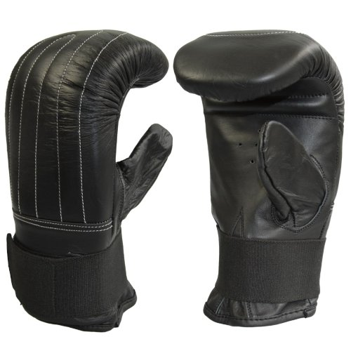 Bag Gloves, Phoenix, leather, black