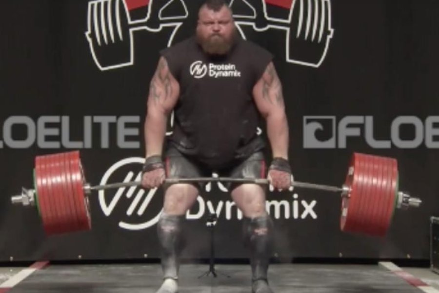 Elképesztő deadlift világrekord!