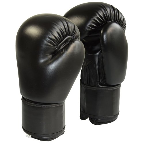 Boxing gloves,Phoenix, PU, black, 12 oz size