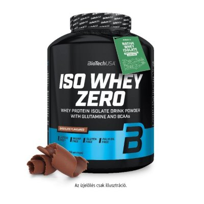 Biotech, Iso Whey Zero, Lactose Free, 2270 g, 18 ízben