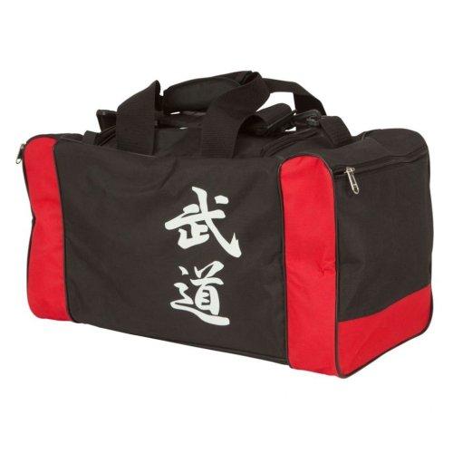 Táska, Hayashi, fekete-piros, 55x26x26 cm