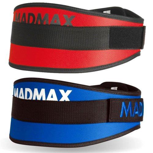 """Súlyemelő öv, Madmax, Simply The Best 6"""", szintetikus"""