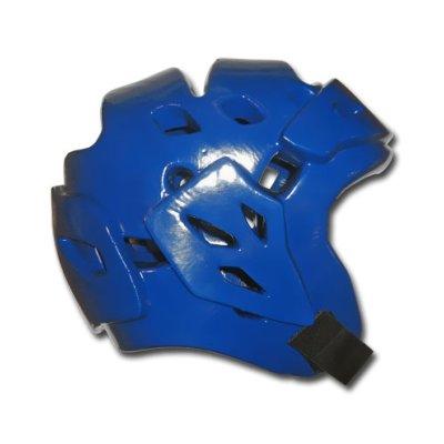 Headguard, Saman, Fight, Dipped foam, blue, XS size