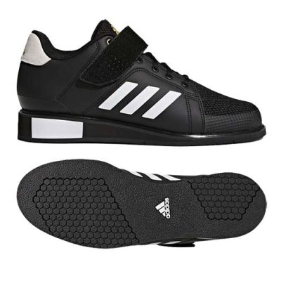 Crossfit / Weightlifting shoes, adidas, Power Perfect III, black/white