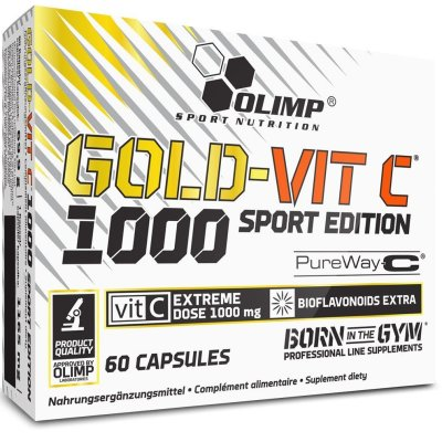 Olimp, Gold-Vit C Sport Edition, Vitamin, 60 Capsules